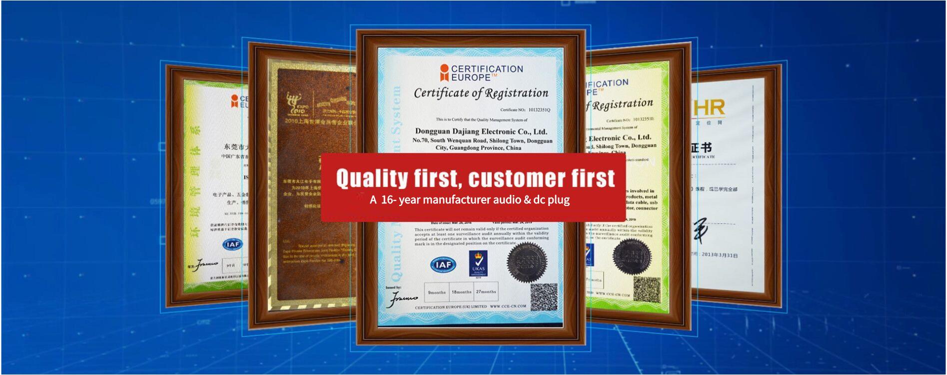 Dongguan Dajiang Electronic Co., Ltd.